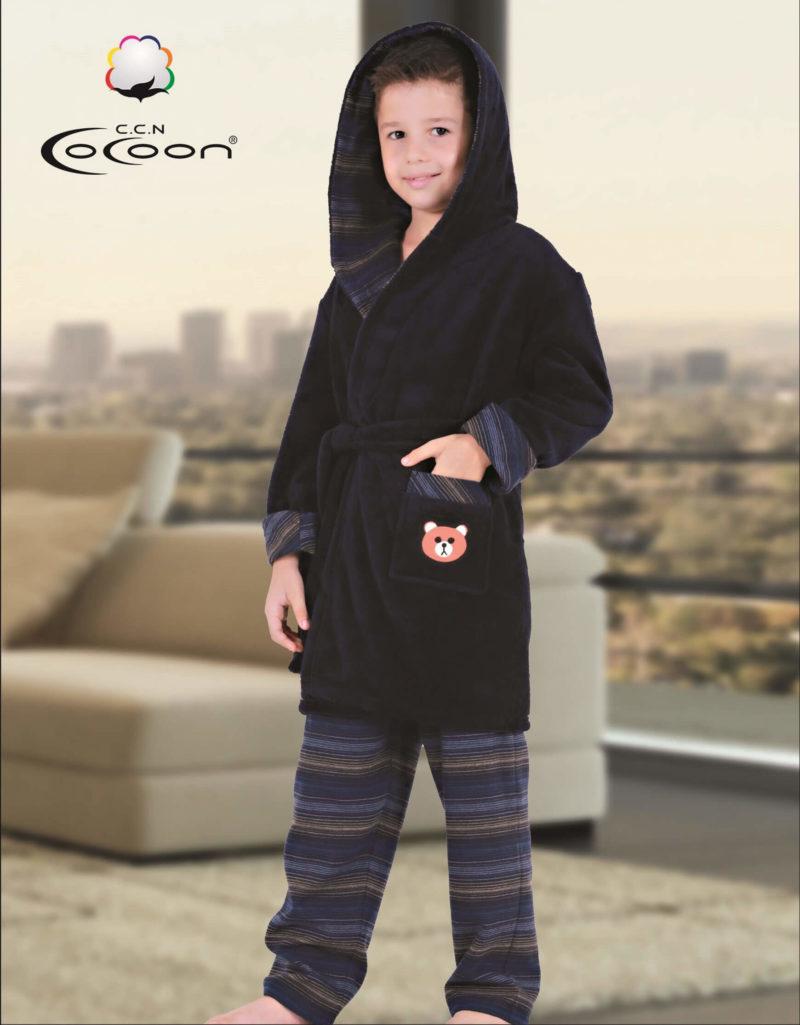 Халат детский махровый с лосинами CCNC501 LACI