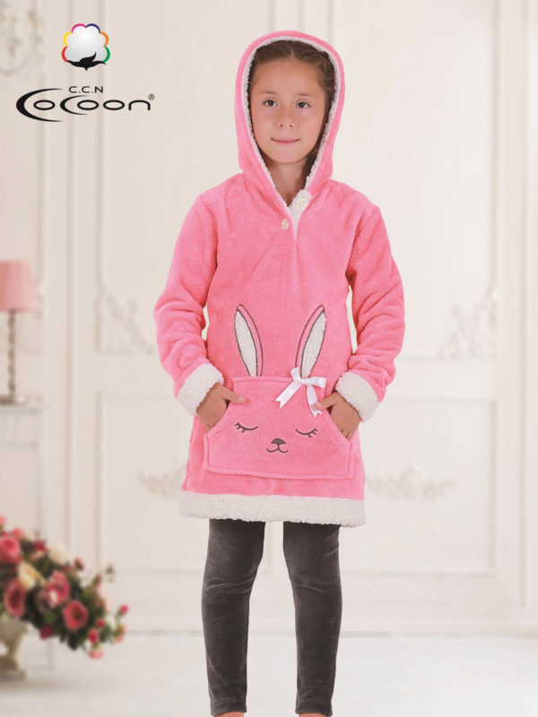 Халат детский махровый с лосинами CCNC502 KORAL
