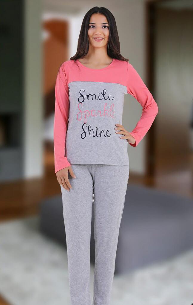 Пижама женская SAB.D42805 CORAL