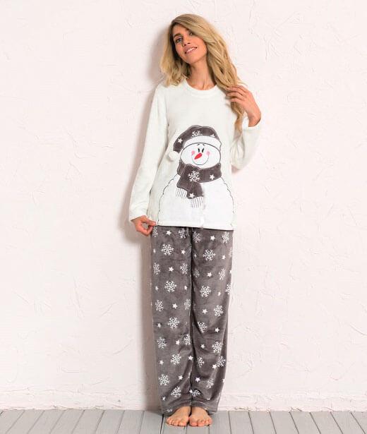 Пижама женская брюки SNK26 3290