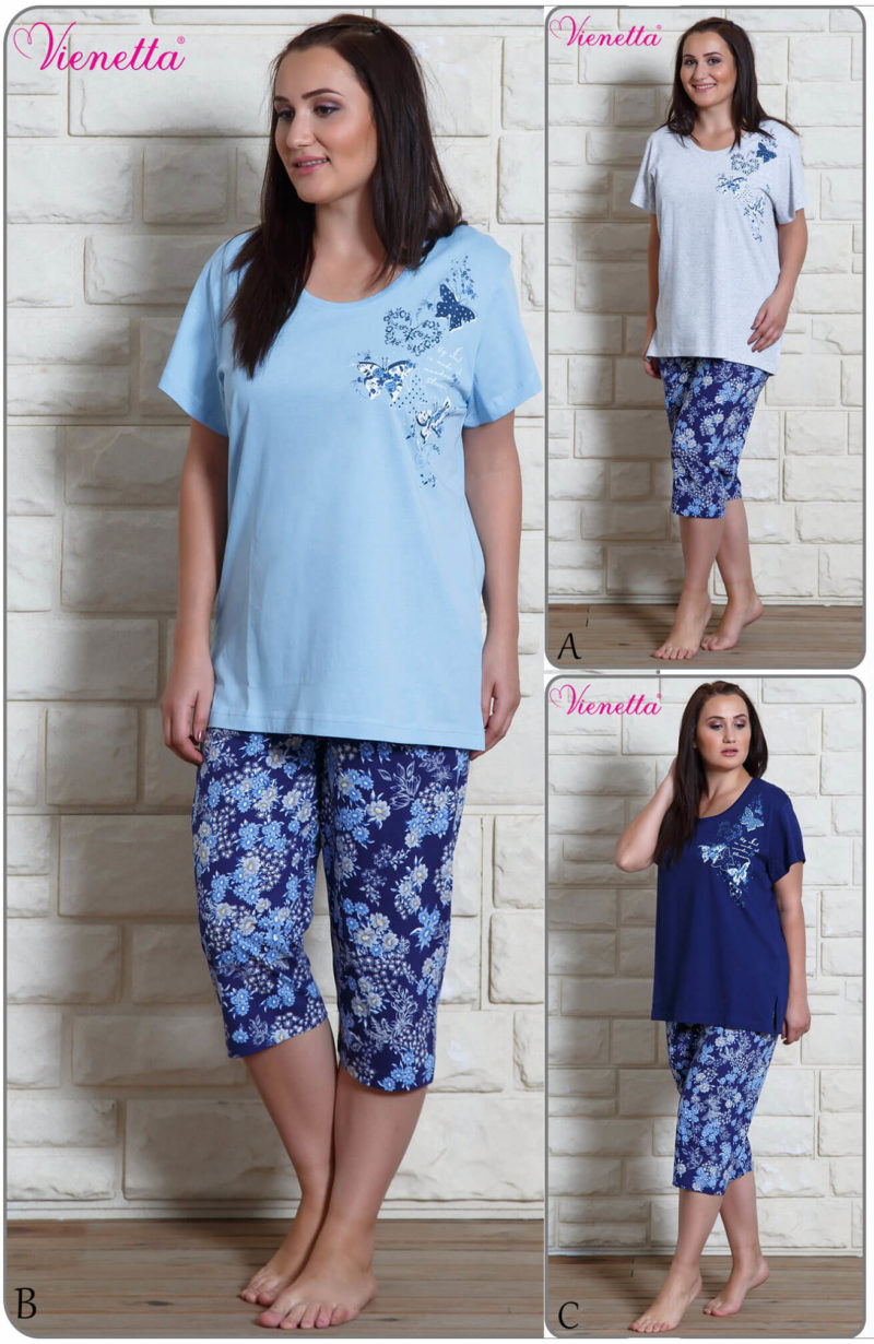 Пижама женская капри 6090769094