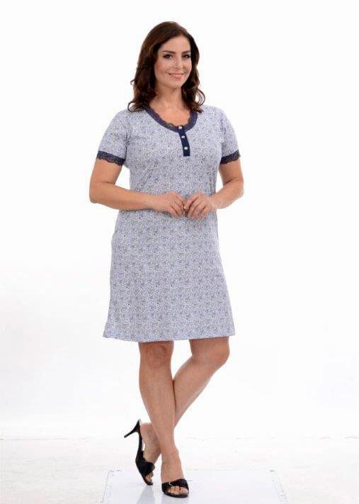 Ночная рубашка Metin 6195