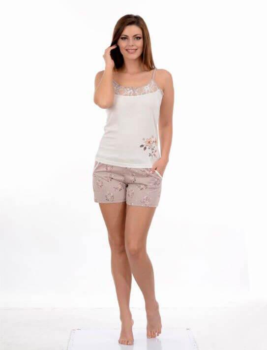 Пижама женская шорты Metin 8650