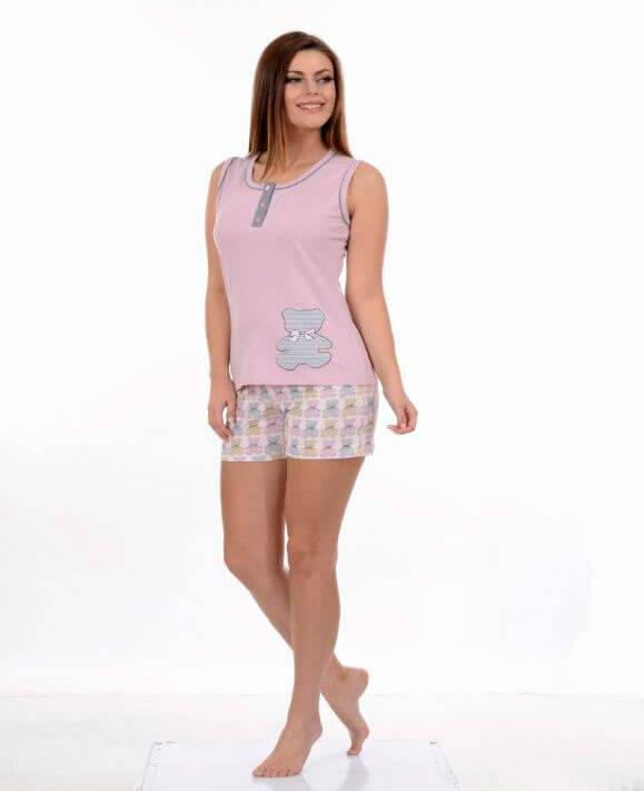 Пижама женская шорты Metin 8656