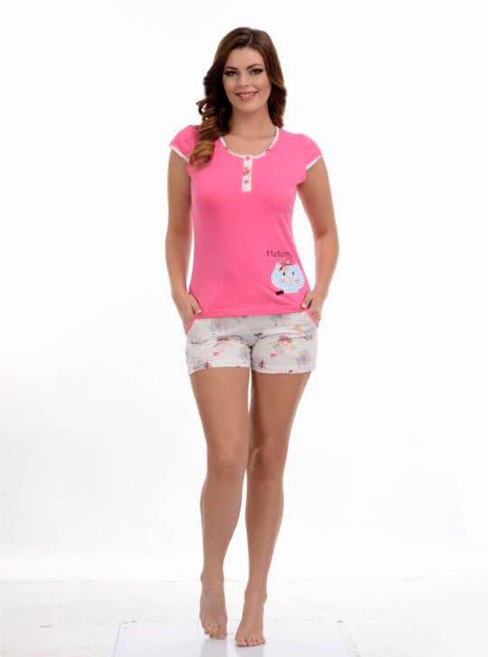 Пижама женская шорты Metin 8680