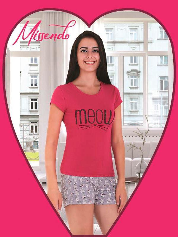 Пижама женская шорты MIS-H 407