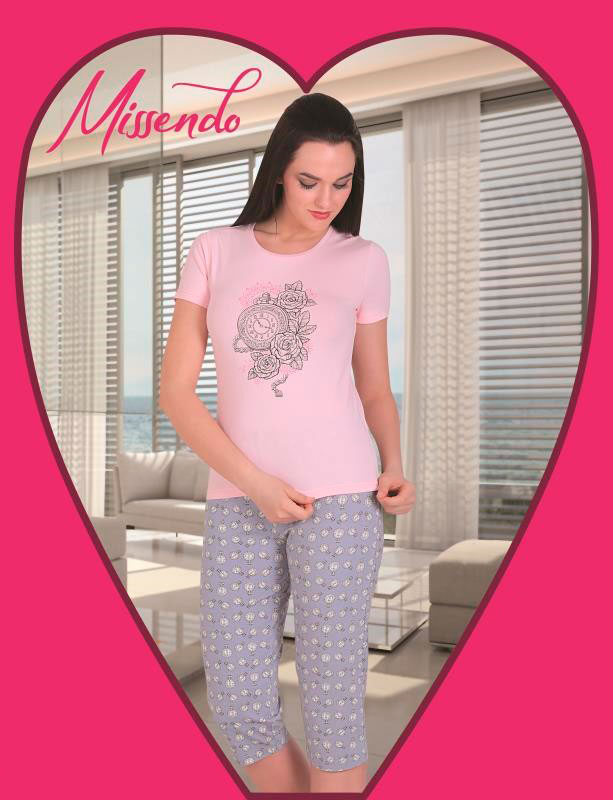 Пижама женская капри MIS-H 501
