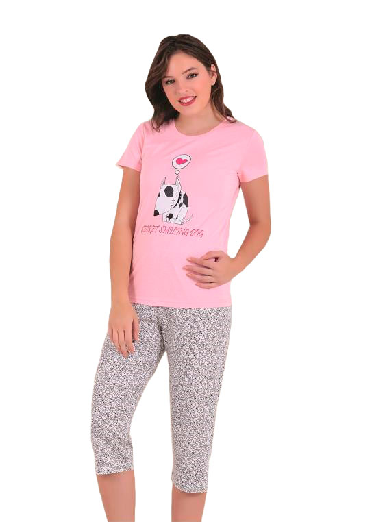Пижама женская капри SAB. H 52809