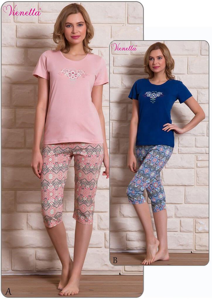 Пижама женская Капри 6090330669