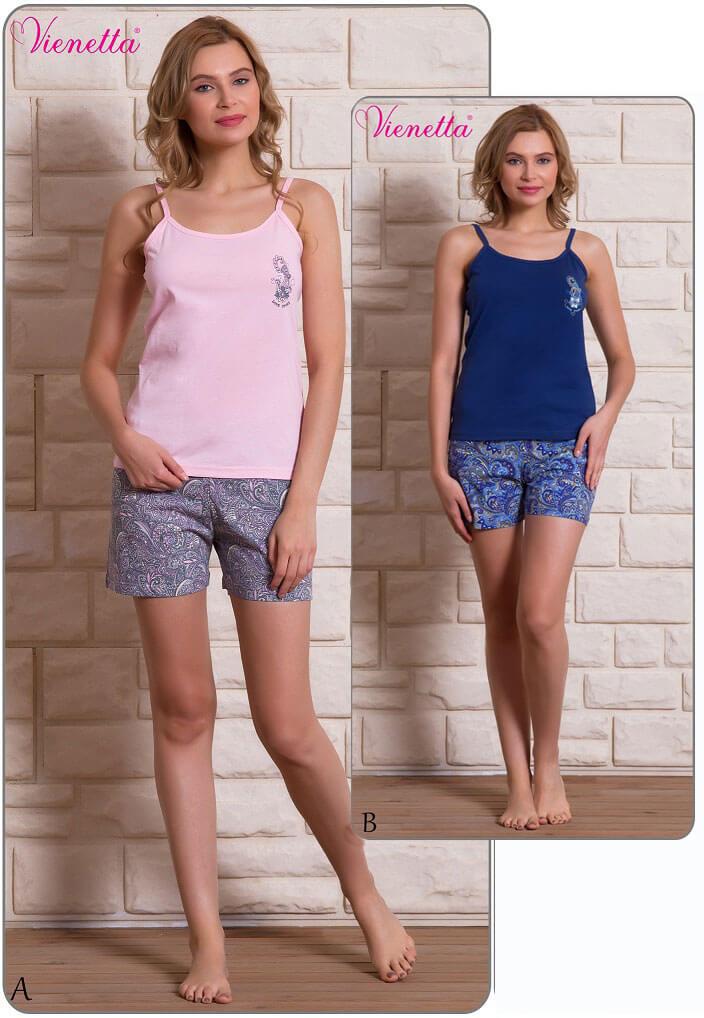 Пижама женская Шорты 6090587497