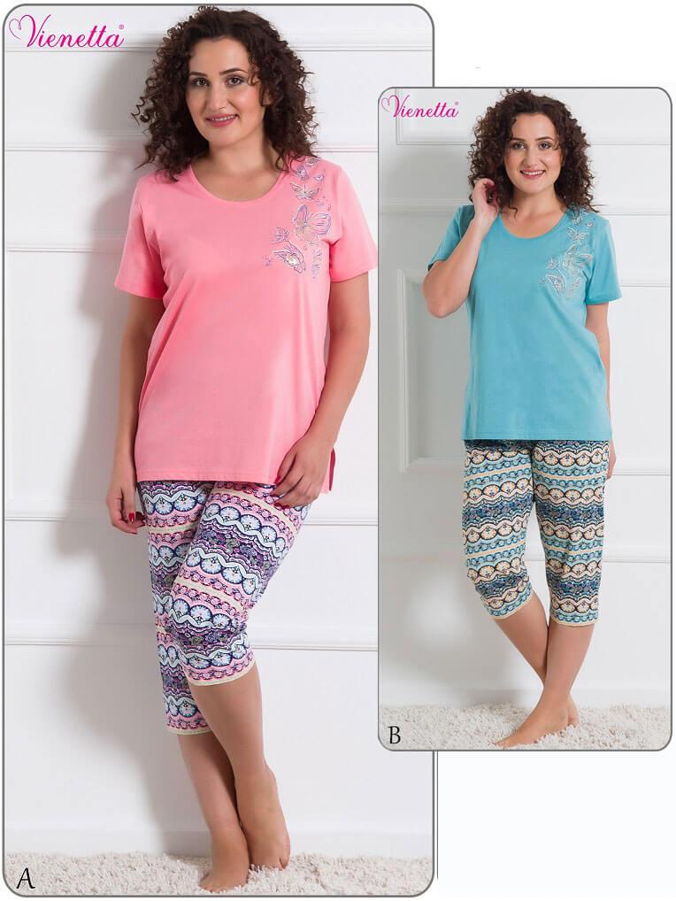 Пижама женская капри 6102006205