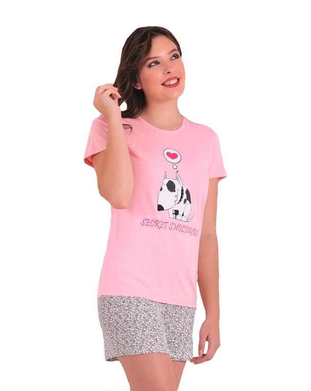 Пижама женская капри SAB. H 62803