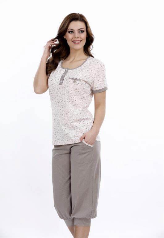 Пижама женская капри Metin 9066