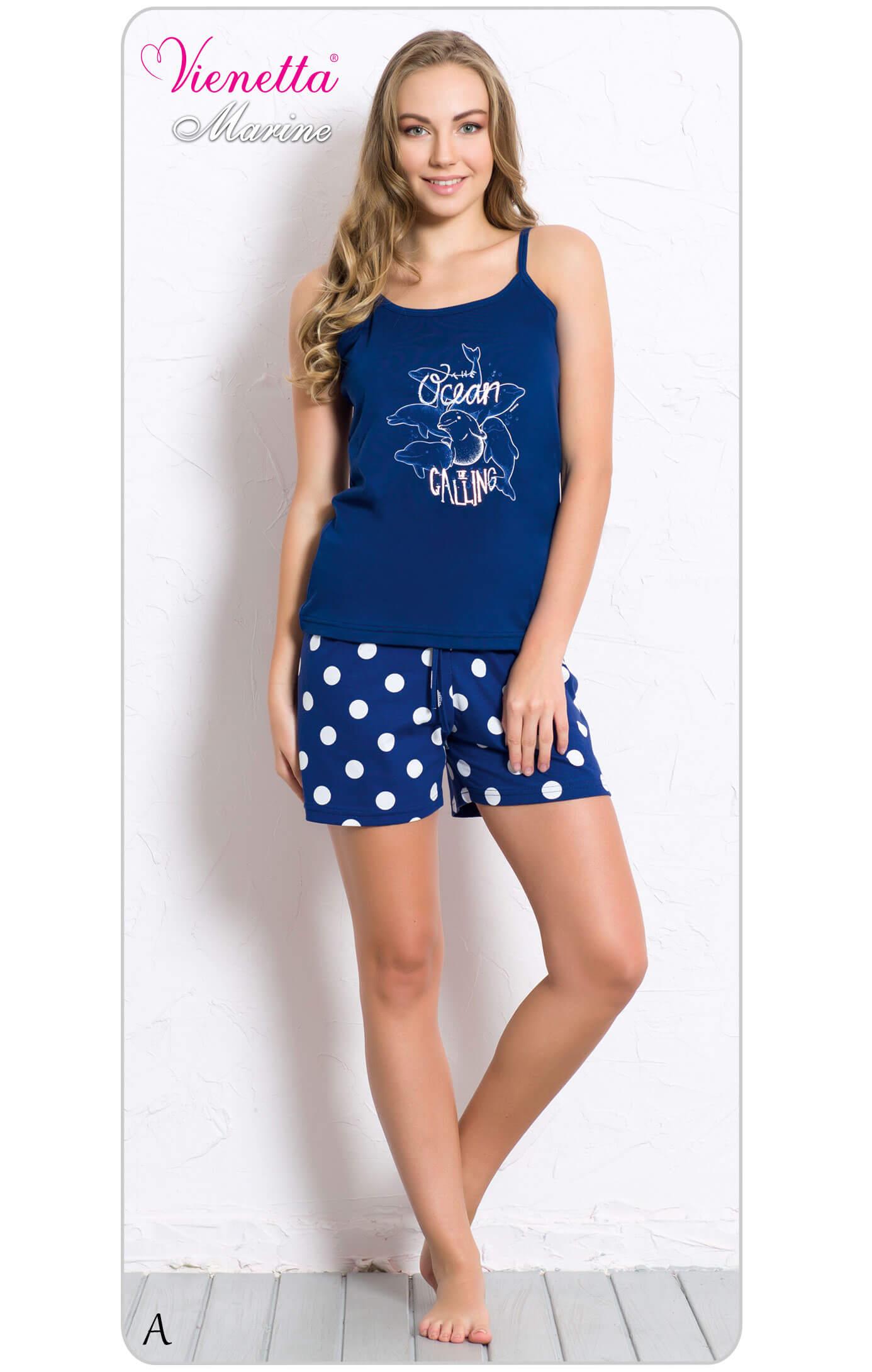 Пижама женская шорты 6070360334