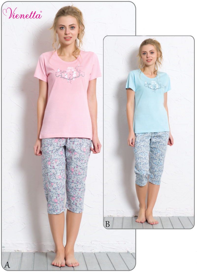 Пижама женская Капри 6080530326