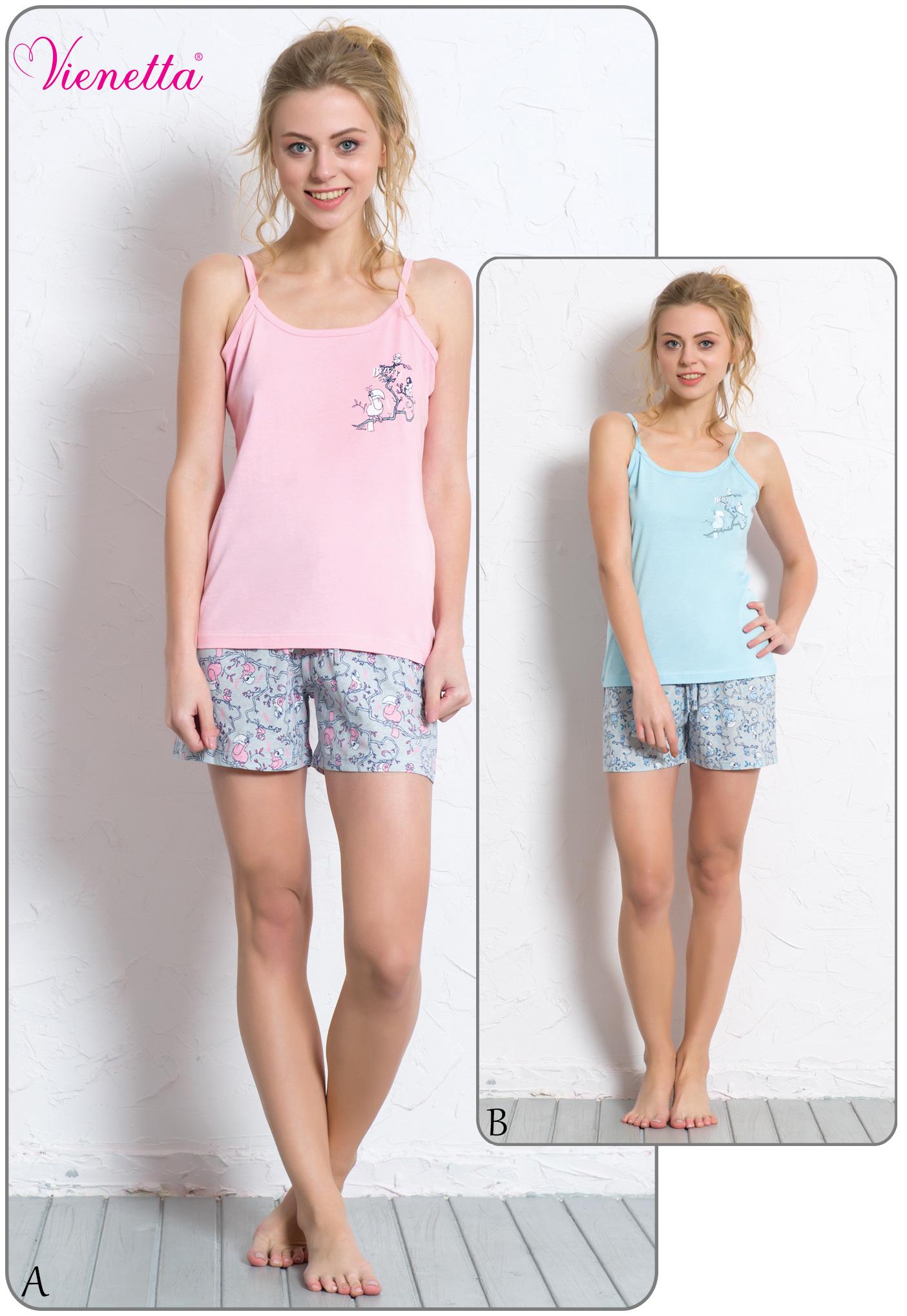 Пижама женская Шорты 6080540326