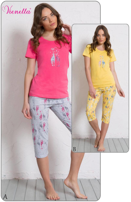 Пижама женская Капри 6080560327