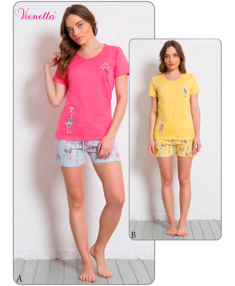 Пижама женская Шорты 6080570327