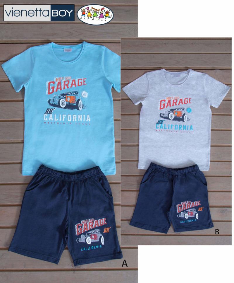 Пижама детская шорты 6080790000