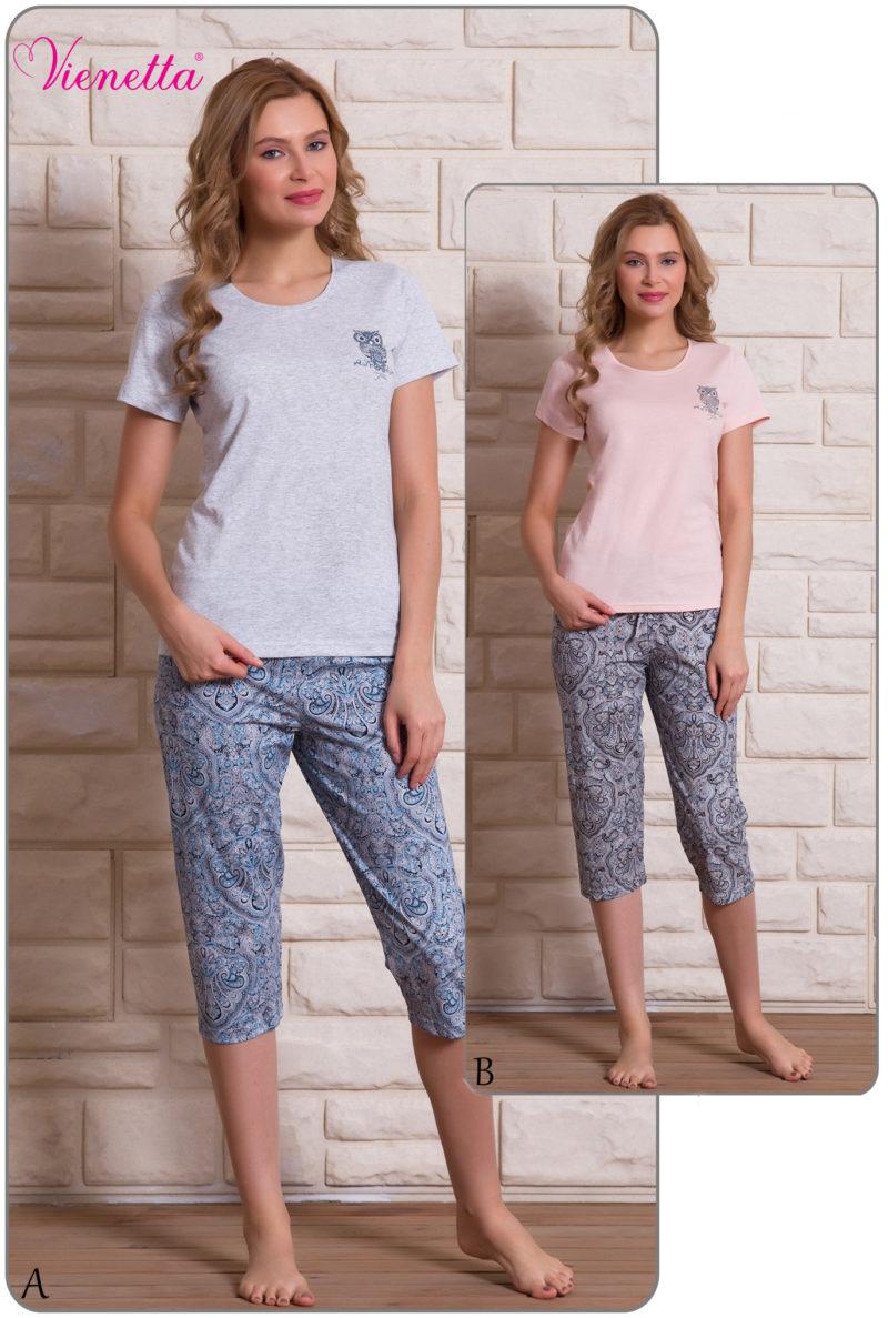 Пижама женская Капри 6091240002