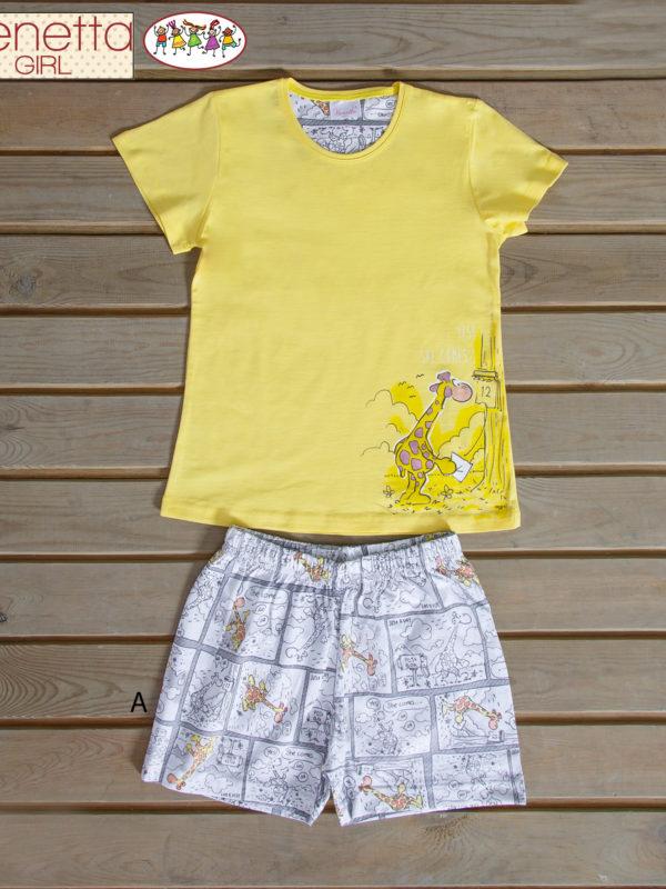 Пижама детская шорты 6102670099