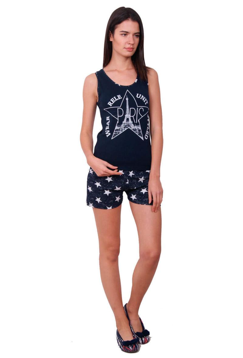 Пижама женская шорты Nicoletta 80628