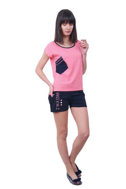 Пижама женская шорты Nicoletta 80661