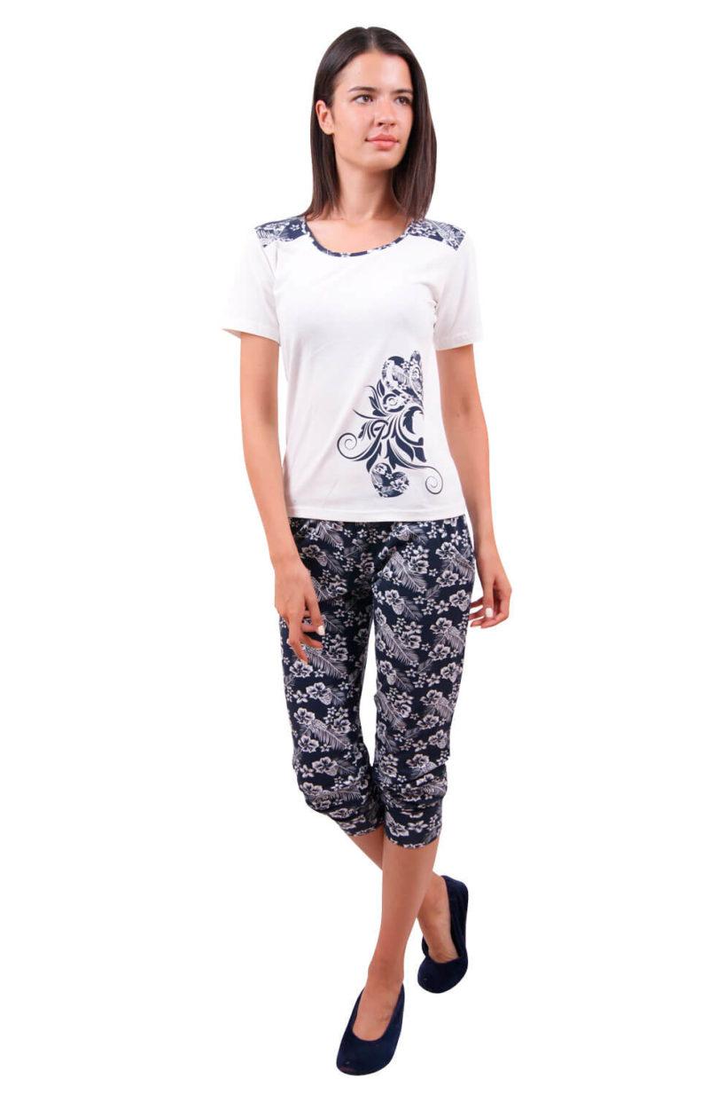 Пижама женская капри Nicoletta 82332
