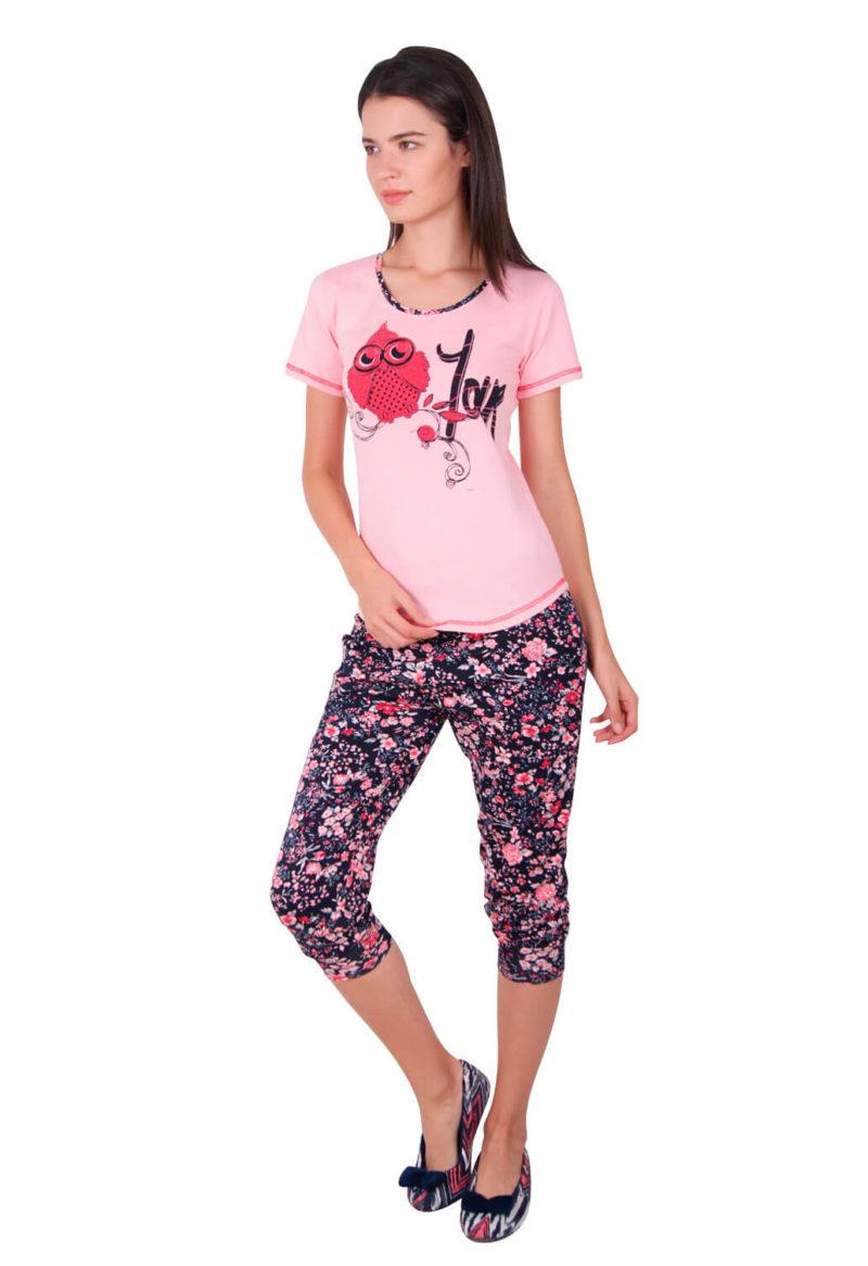 Пижама женская капри Nicoletta 82341