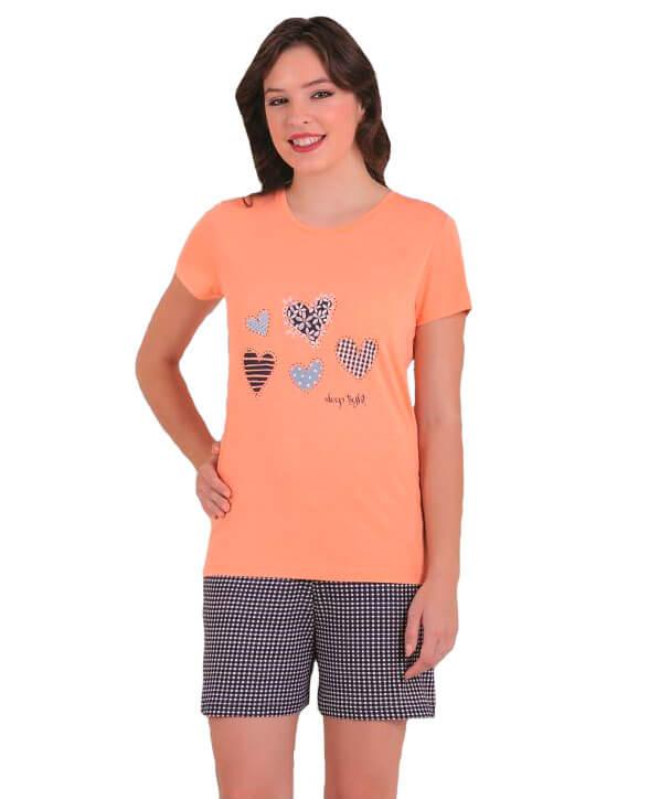 Пижама женская шорты SAB. H 62815