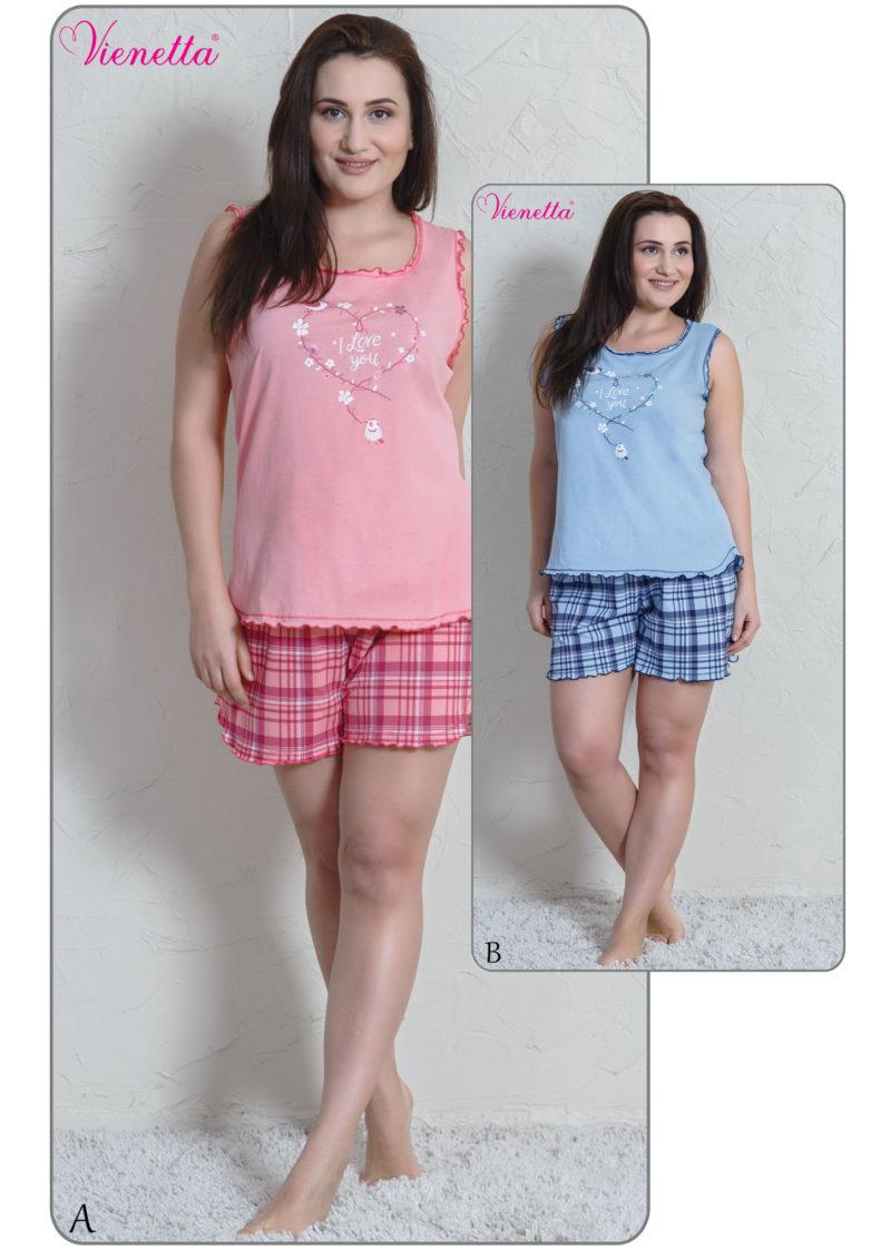 Пижама женская Шорты 6111300976