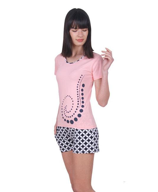 Пижама женская шорты Nicoletta 80705