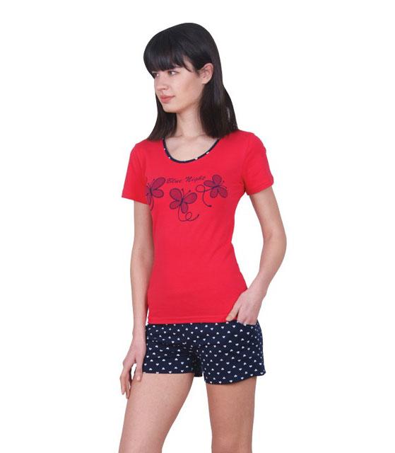 Пижама женская шорты Nicoletta 80712