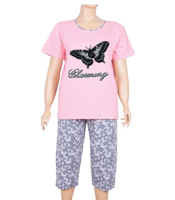Пижама женская капри Nicoletta 84111
