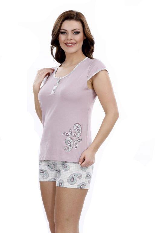 Пижама женская шорты Metin 8724