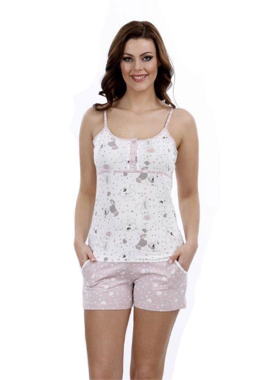 Пижама женская шорты Metin 8754