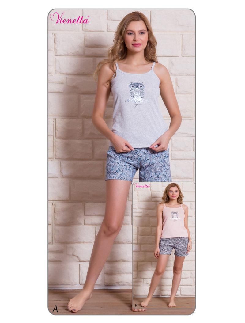 Пижама женская шорты 7020990002