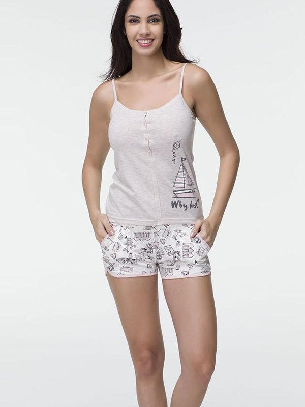 Пижама женская шорты Hays 16515-B205