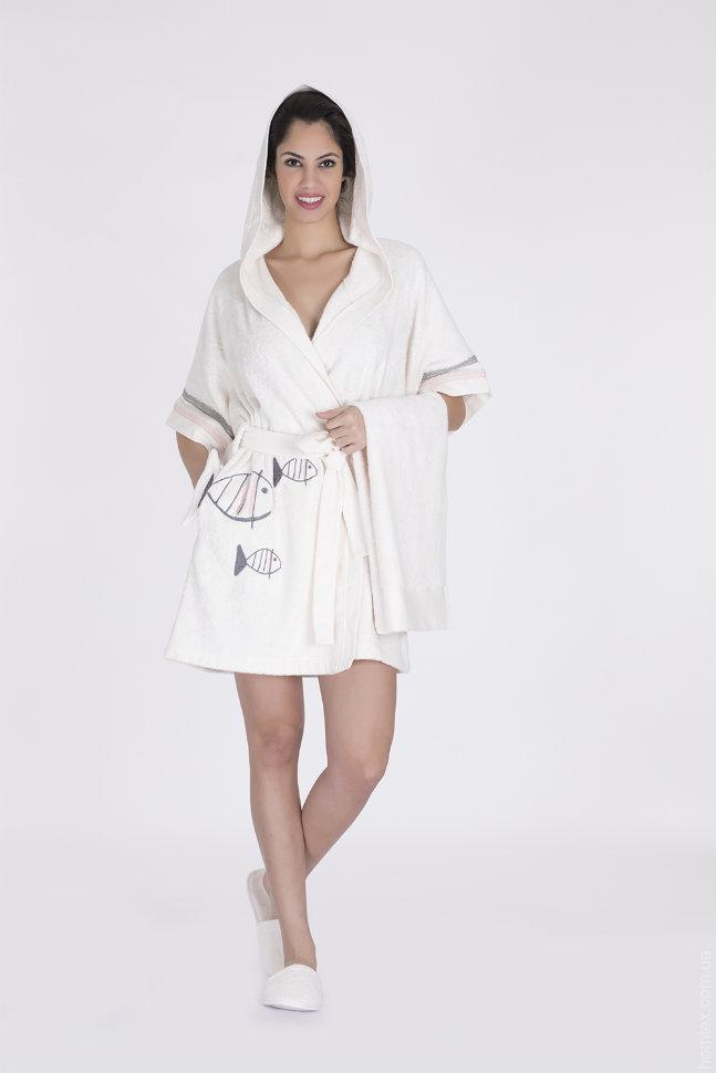 Набор женский Hays халат+полотенце 16575-В134