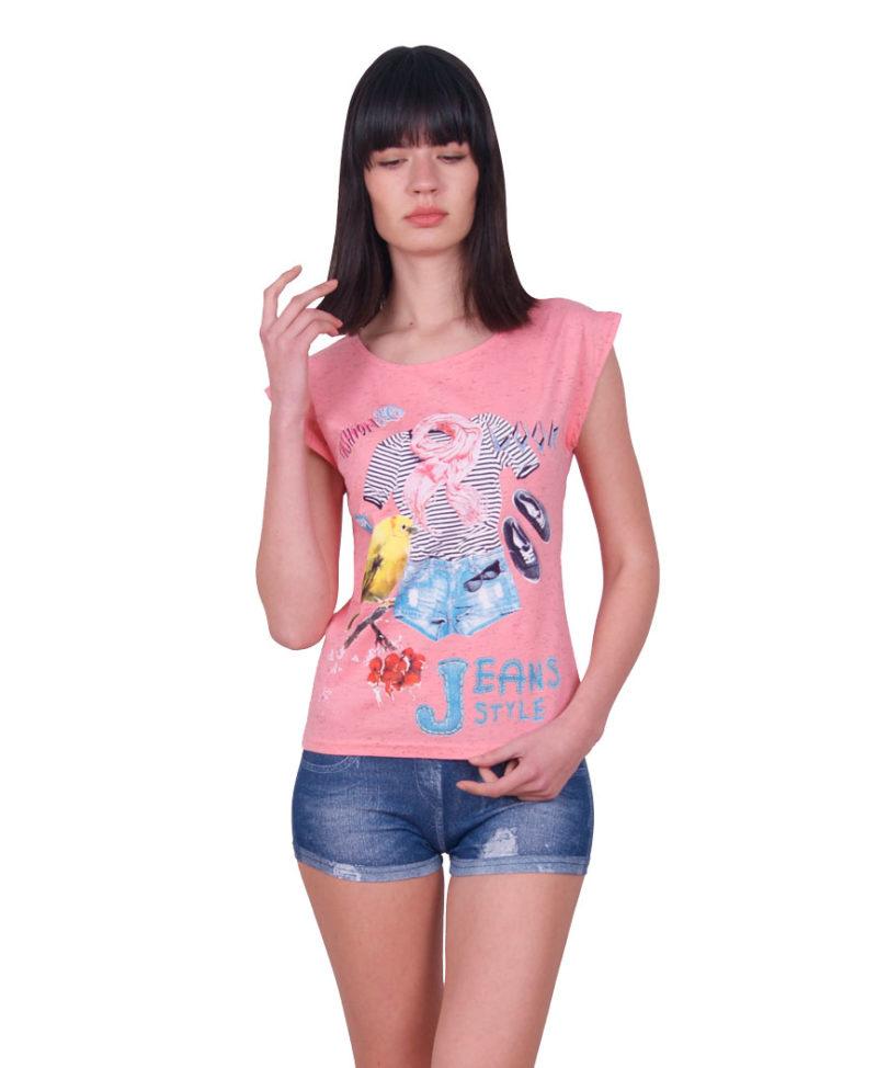 Пижама женская шорты Nicoletta 80719