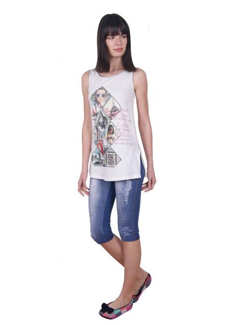 Пижама женская капри Nicoletta 82367