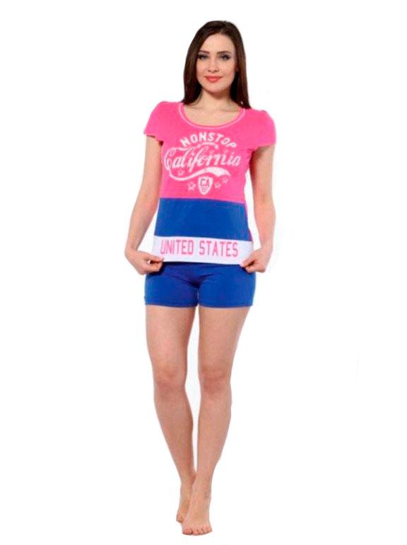 Пижама женская шорты Metin 8896