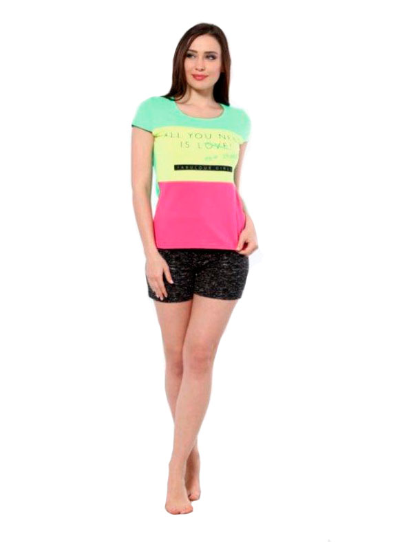 Пижама женская шорты Metin 8898