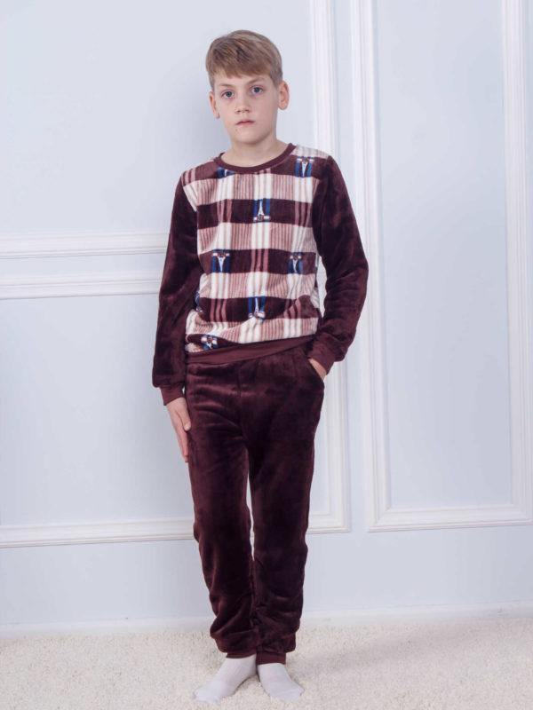 Пижама детская махра Sofi Soft 10828