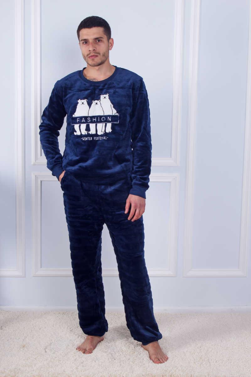 Пижама мужская махровая SofiSoft 10867