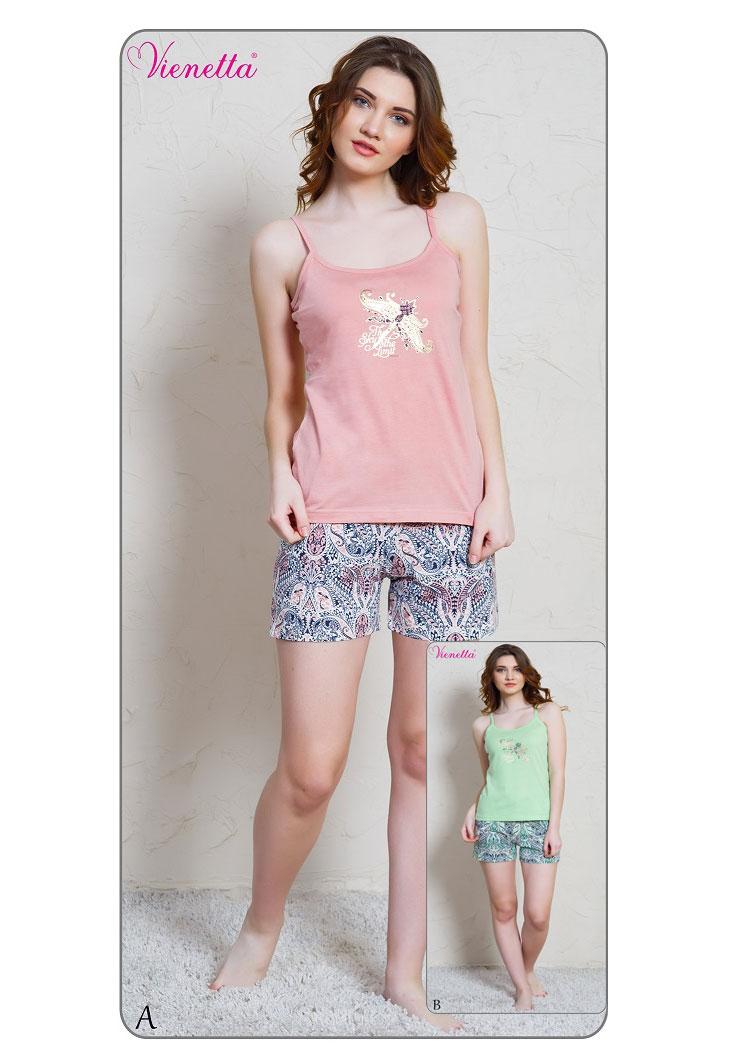 Пижама женская шорты 7020876356