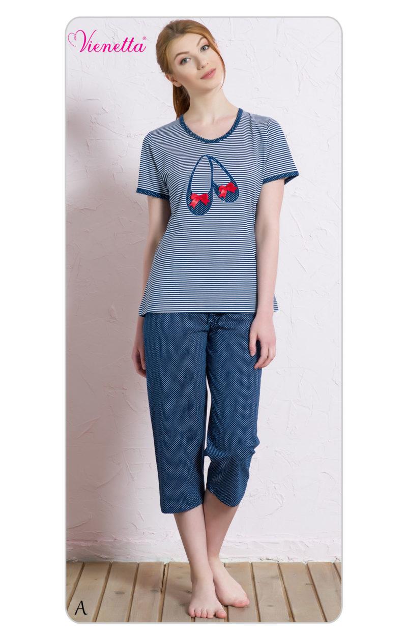 Пижама женская Капри 7041541913
