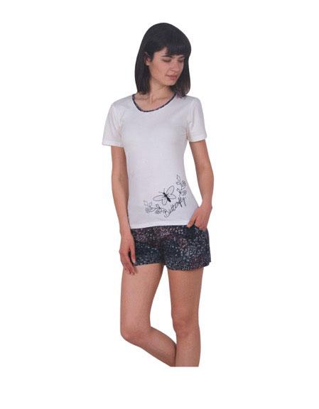 Пижама женская шорты NICOLETTA 80732