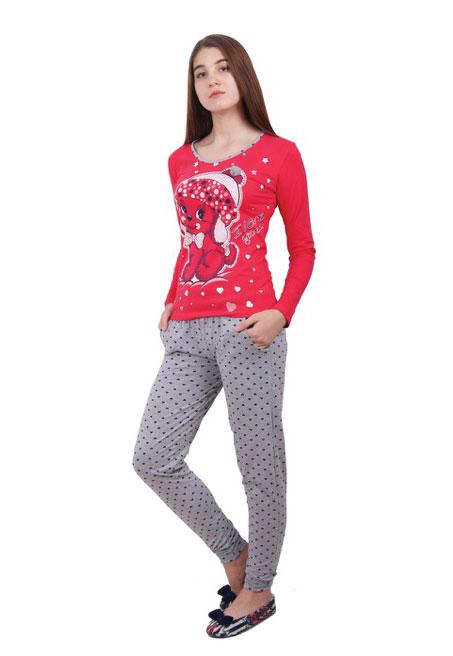 Пижама женская брюки NICOLETTA 86764