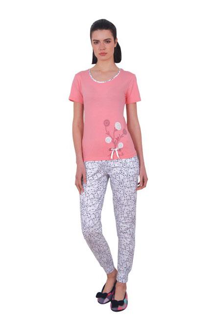 Пижама женская брюки NICOLETTA 86808